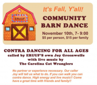 It's Fall, Y'All Barn Dance